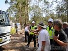 North Coast mayors visit Glenugie Coal Seam Gas blockade