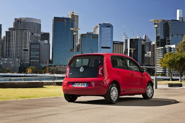 Volkswagen's up! city car.
