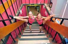 DANCE STARS: Keeley O'Mara and Ainsley Clarke take part in the In2Dance Summer School 2013. Photo: Max Fleet / NewsMail