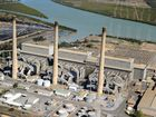 An aerial View of the Gladstone Power Station.