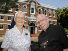 Holy Name Catholic Church - parish priest Father John Keegan will celebrate 60 years as a priest and Sister Margaret 50 years as a Sister of Mercy. Photo: Bev Lacey / The Chronicle
