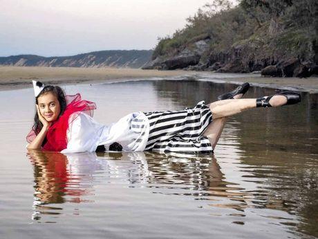 Dancer Farrah Roongsang-Ellis has been named Queensland's most promising ballet dancer two years running.