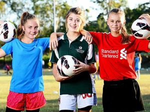 Female football talent urged to sign for Pride outfit