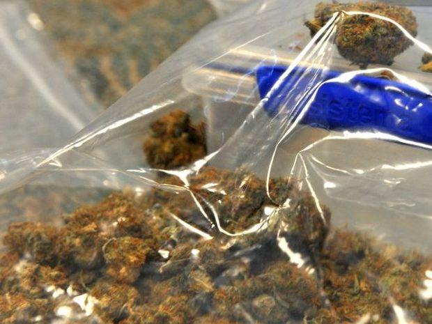 DRUG RAIDS: Bundaberg police executed five drug raids in the Bundaberg region, seizing drugs and making several arrests. Photo: Max Fleet / NewsMail