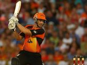 SHAUN Marsh has blasted his way back onto the international stage, but his great mate and fellow big-hitter, Luke Pomersbach, has missed out.