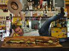 Nindigully Pub monster burger stuns Sunrise's Grant Denyer