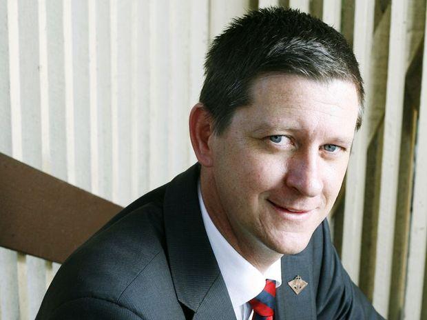 DUMPED: Bernard gaynor has been dropped as a KAP Senate candidate.