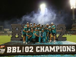 Heat given keys to Brisbane city after winning BBL crown
