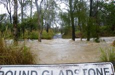 Gladstone has been hit by heavy rain and flooding along with other areas of Queensland.