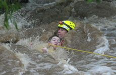 Swift water teams have been kept busy in Central Queensland with about 20 rescues over night.