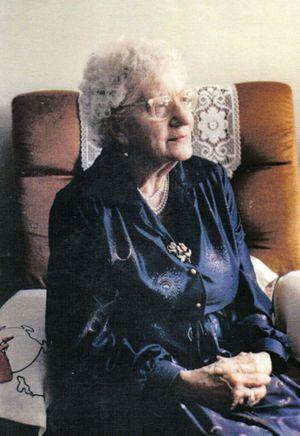 Titanic survivor Edith Brown. Photo: Contributed