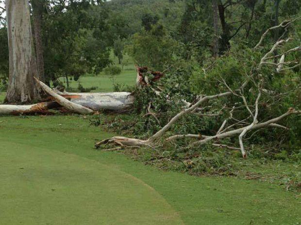 GIANTS FALL: Sarina Golf Club.