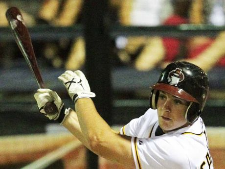CENTRE FIELD: Andrew Campbell's disappointment at the Brisbane Bandits missing out on play-offs was mitigated by his own improvement this season.