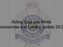 Toowoomba flood update