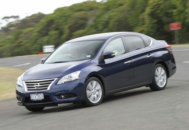 Nissan's new Pulsar sedan.