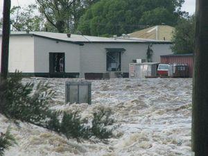 Lawrence under flood