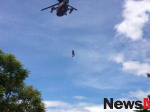 Raw footage of North Bundaberg evacuation