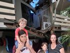 Displaced family touched by generous offers of accommodation