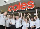 City celebrates as Coles opens doors