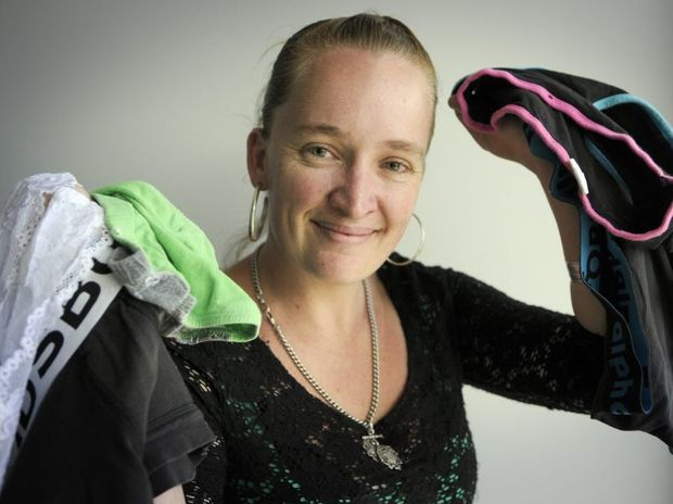 Kellie Hess is collecting essential items such as undies and toiletries for flood victims in Bundaberg.