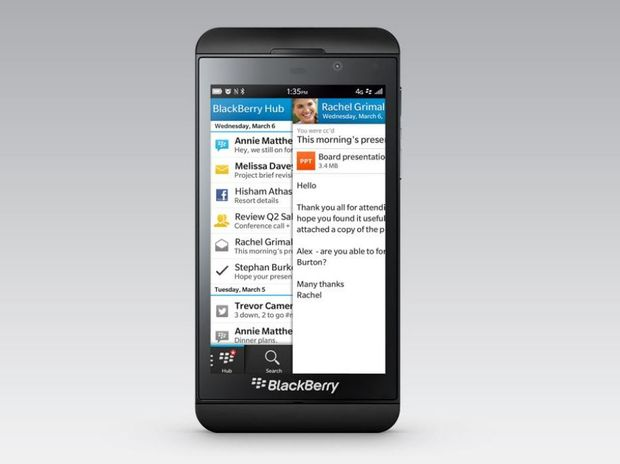 A3000 how big is the blackberry z10 14-Aug with