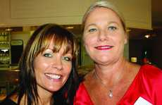 Donna Sach, left, of Maroochy Chamber of Commerce and Raelene Ohlson of Palmer Resort Coolum at the expo launch.