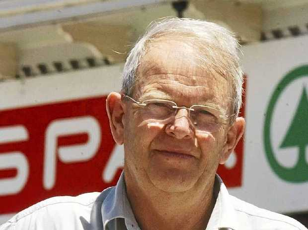 ABOUT TIME: Maclean Spar Supermarket owner Bob Little is hopeful the park revamp will happen soon. Photo: Debrah Novak