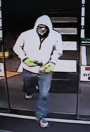Police believe this man may be able to help with with their investigation into an armed robbery at Warana.