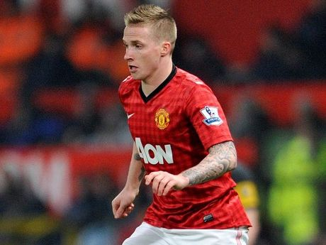 Manchester United's Alexander Buttner during their English FA Cup fifth round soccer match against Reading at Old Trafford in Manchester, England on Monday Feb 18, 2013.