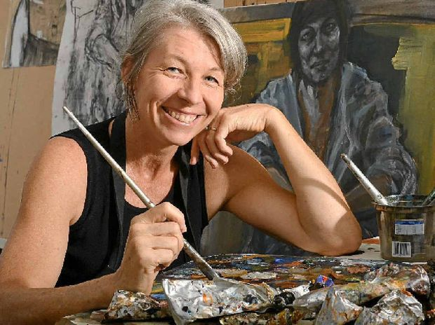 Buderim artist Caroline Magerl is off to the London to exhibit her work.