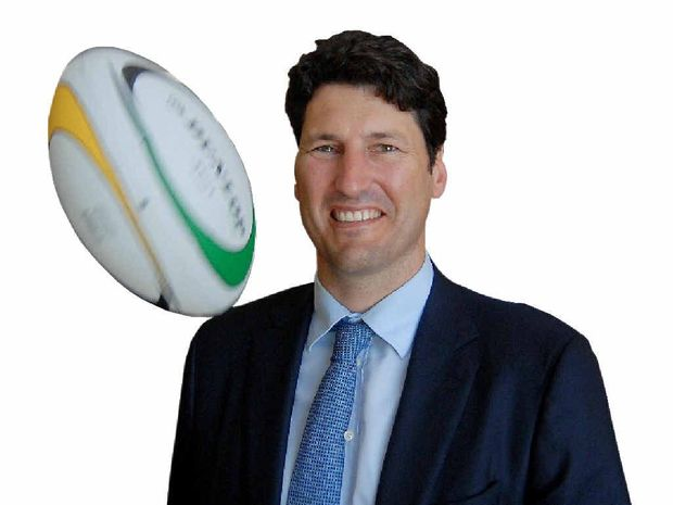 Rugby union legend John Eales was one of many high profile sportsmen in Mackay yesterday.