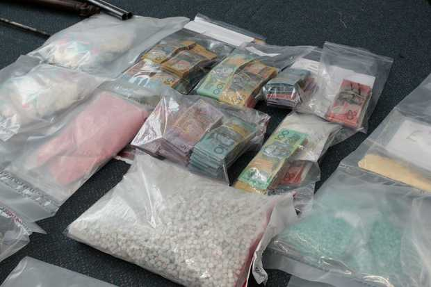 Roma police have been part of a major drug bust.