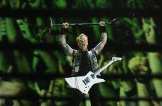 Metallica frontman James Hetfield had the crowd going as always during Soundwave 2013 in Brisbane.