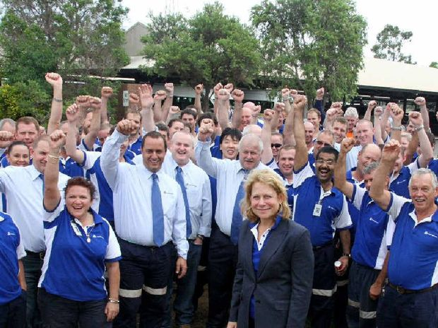 Anglo American Global CEO Cynthia Carroll is on her final tour of the Moranbah region after announcing her resignation last year.