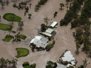Dalby flood aerials