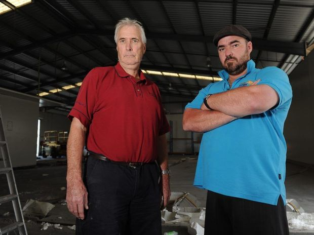 Gladstone Fish Market owner Ted Whittingham and son Simon are devastated to close the doors of their Chapple Street business.