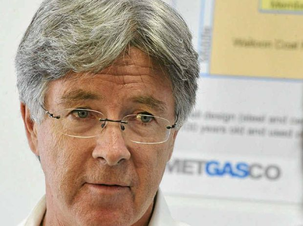Metgasco boss Peter Henderson.