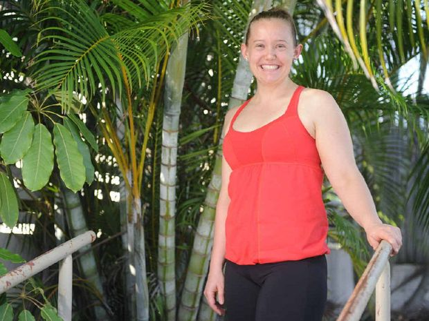 Tanya Dawson has lost 31kg through daily exercise and watching what she eats.