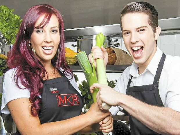 Sunshine Coast siblings Elle and Jake Harrison, in My Kitchen Rules.