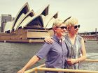 Ellen DeGeneres and Aussie wife Portia de Rossi in Sydney.