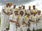 Northern Brothers Diggers team members celebrate their win.