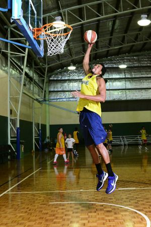 Ipswich Force basketball new recruit Martin Iti. Photo: David Nielsen / The Queensland Times