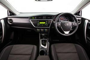 The Toyota Corolla.