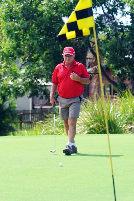 GOLF: Robert Craig playing a round of golf at Coral Cove Golf Club. Photo: Max Fleet / NewsMail