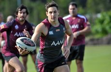 Queensland Rugby League State of Origin team train at Coolum. Billy Slater. Photo:Warren Lynam / Sunshine Coast Daily