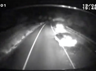 Truck camera catches near miss on Maleny Range
