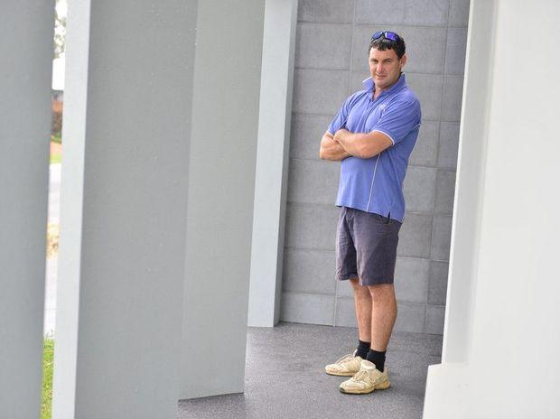 Local builder Steve Allen.
