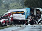 One man has been killed in a truck crash at Alligator Creek.