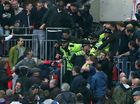Wigan's FA Cup victory marred by Millwall fans fighting
