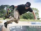 Clinton Davidson owner of a new skateboard shop Image Skateboarding. Photo Allan Reinikka / The Morning Bulletin